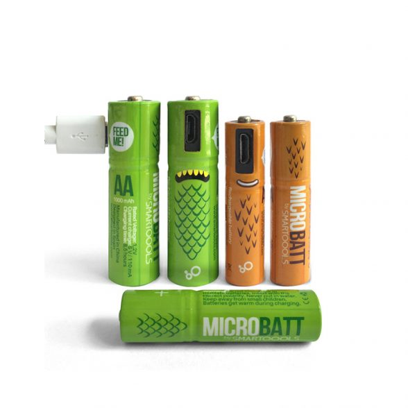 Rechargeable Batteries Wholesale (USB Charging)